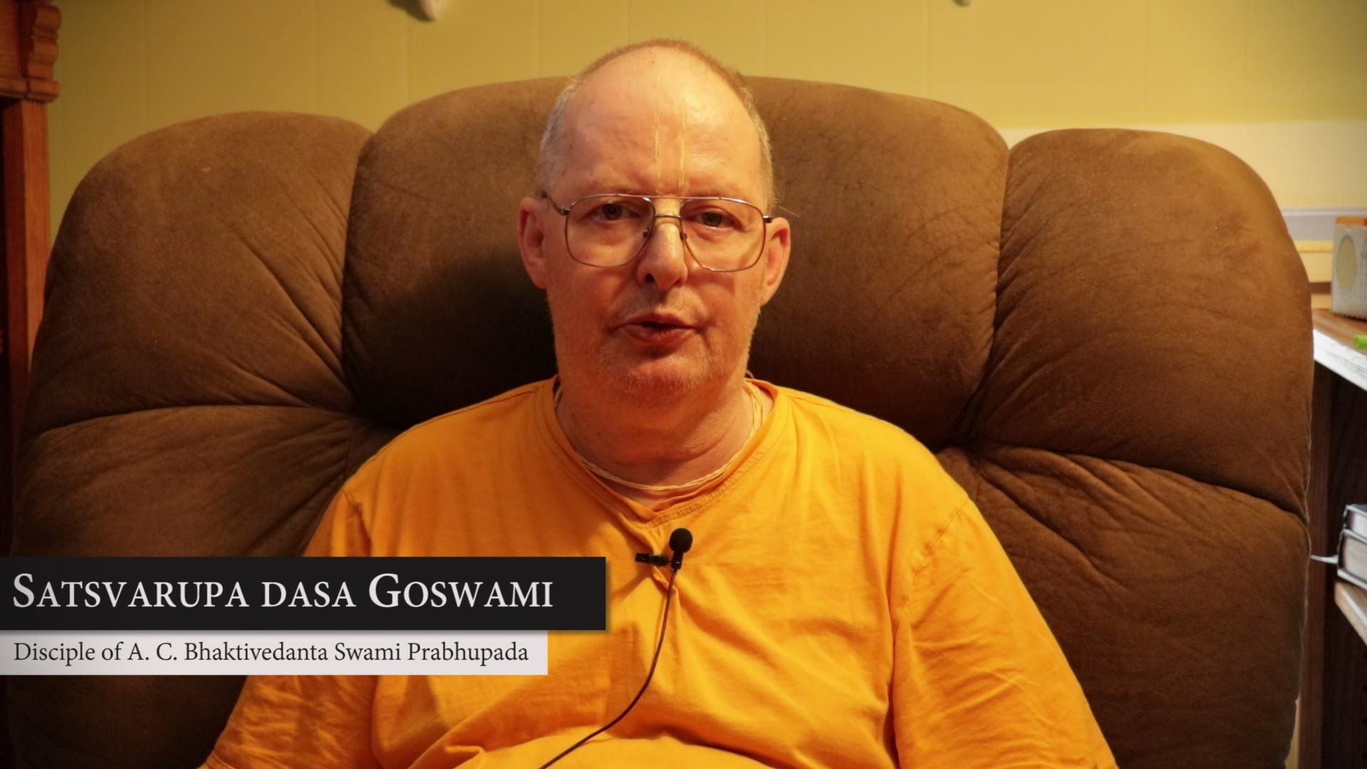 Обращение Е.С. Сатсварупы даса Госвами к преданным Закарпатского тура.
