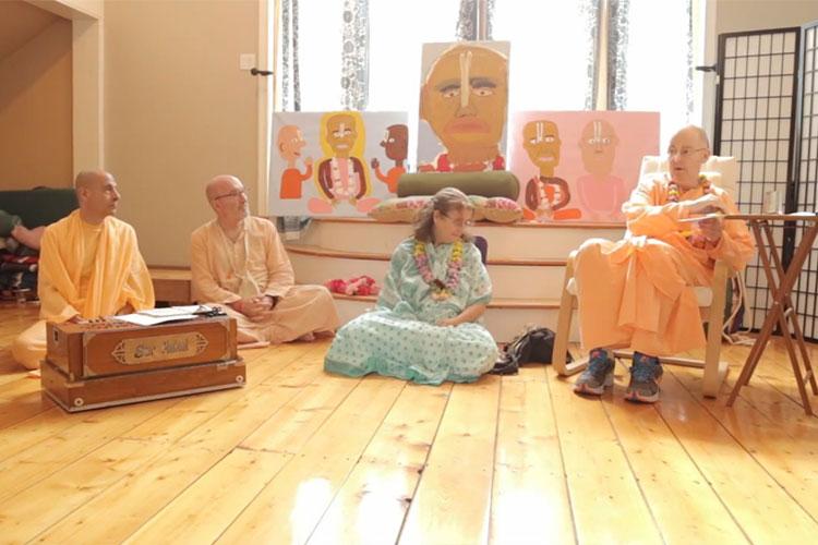 Satsvarupa dasa Goswami - Srila Prabhupada Appearance day 2013