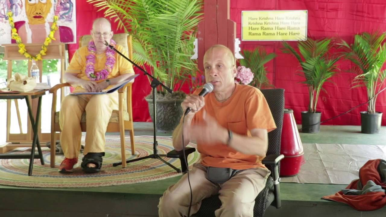 Rama Raya prabhu about Japa - SDG Disciples meeting 2016