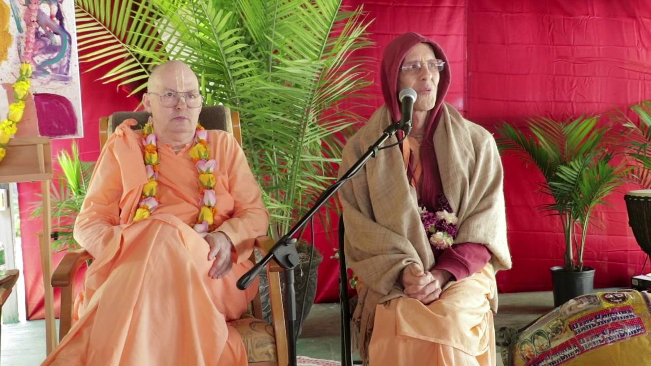 jayadvaita Swami - SDG Disciples meeting 2016