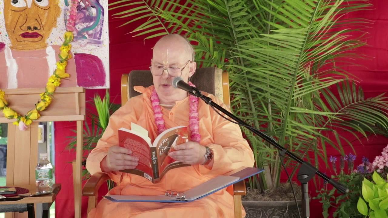 About Bhakti Tirtha Swami - SDG Disciples meeting 2016